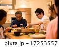 シニア キッズ 食卓の写真 17253557