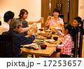 シニア キッズ 食卓の写真 17253657