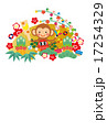 年賀状テンプレート&年賀素材 17254329