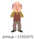 恥ずかしい 顔を覆う ベクターのイラスト 17261075