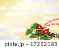 新年 金銀 霞 紅白 水引 松 椿 17262083
