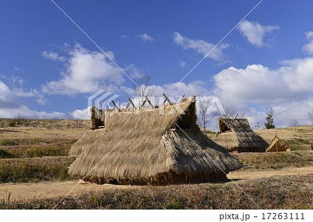 再現された竪穴式住居/奈良県 明日香村 17263111