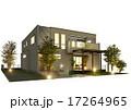 外観 戸建住宅 一軒家のイラスト 17264965