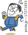 ジョギングするおじさん 17271933