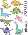 恐竜セット 17278813