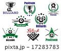 課題 ビリヤード スポーツのイラスト 17283783