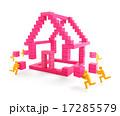 住宅 住居 家のイラスト 17285579