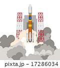 ロケット発射 17286034