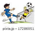 サッカー 17286051