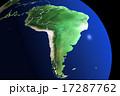 ブラジル中心 地球儀CG 17287762