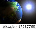 地球CG 逆光パターン 17287765