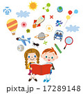本を読む子供 17289148