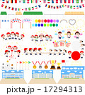 小学校の運動会アイコンセット 17294313