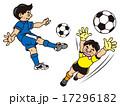 サッカー 17296182