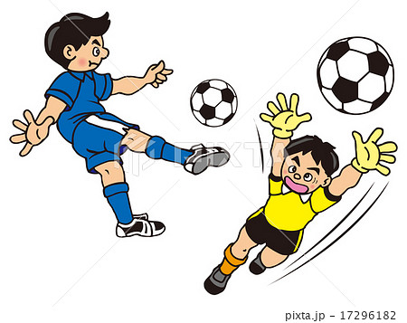 「サッカー イラスト」の画像検索結果
