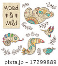 Wood animal figures. Eco friendly toys 17299889