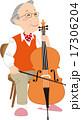 ベクター チェロ 弦楽器のイラスト 17306204