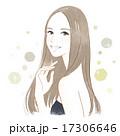 美しい髪の女性 17306646