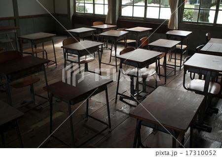 懐かしの学校机 17310052