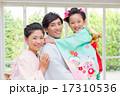 七五三 笑顔 人物の写真 17310536