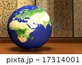 地球儀_アフリカ大陸より 17314001