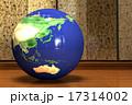 地球儀_日本より 17314002