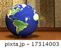 地球儀_ブラジルより 17314003