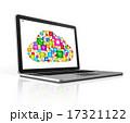 PC ノートパソコン 象徴のイラスト 17321122