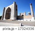 ウズベキスタンの世界遺産サマルカンドにあるビビハニム・モスク 17324336