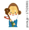 福禄寿 巻物 ベクターのイラスト 17326881