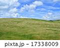 牧草 高原 空の写真 17338009