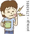 ベクター 痛む 歯痛のイラスト 17343691