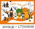 ハロウィン カード 17344646