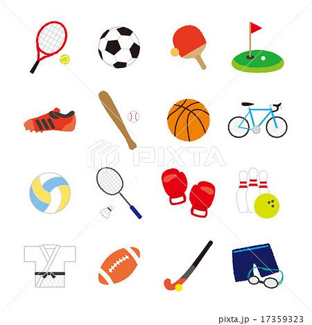 スポーツ アイコン 01 17359323