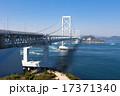 鳴門大橋 橋 つり橋の写真 17371340