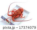 伊勢海老 甲殻類 蒸し料理の写真 17374079