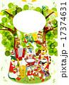 フレーム 十二支 音楽のイラスト 17374631