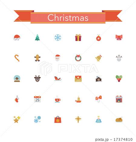 Christmas Flat Icons 17374810