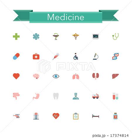 Medicine Flat Icons 17374814