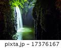 ライトアップ 真名井の滝 高千穂峡の写真 17376167