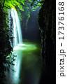 ライトアップ 真名井の滝 高千穂峡の写真 17376168