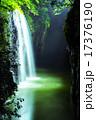 ライトアップ 真名井の滝 高千穂峡の写真 17376190