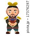 中国 秦の時代の武人  歴史 人物イラスト 17376297