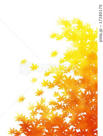 紅葉のシンプル背景 17380170