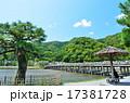 嵐山 渡月橋 京都の写真 17381728