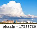 街 空 ブルーの写真 17383789
