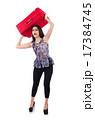 トランクケース かばん 女性の写真 17384745