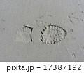 あしあと 足跡 インプリントの写真 17387192