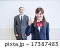 教師 女子高生 先生の写真 17387483