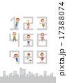マイナンバー制度(テンプレート) 17388074